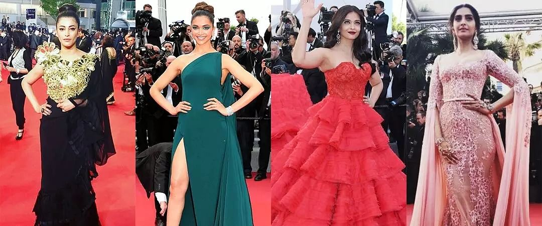 Some Gracious red carpet looks from Indian actresses