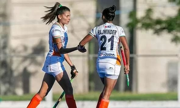 Indian women play 2-2 draw