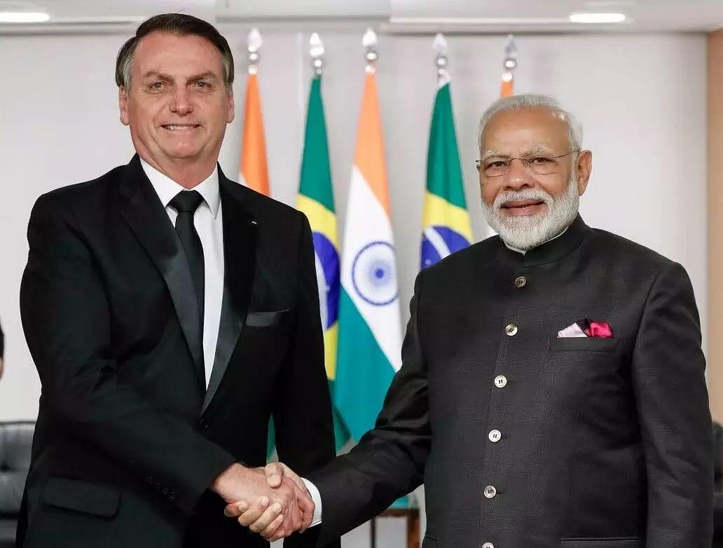 Brazilian President Thanks Prime Minister Modi for Vaccines, PM is Honoured