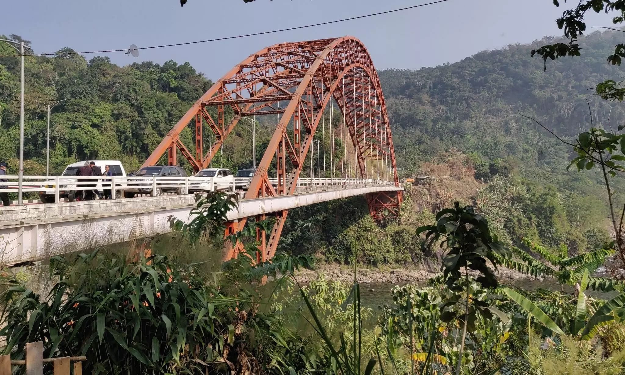 CM Conrad Sangma Inaugurates Indias Longest Road Arch Bridge-Wahrew Bridge