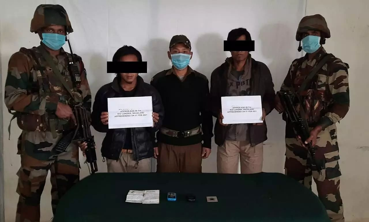 Assam Rifles Nab 2 Cadres of NSCN(K-2) from Arunachal Pradesh