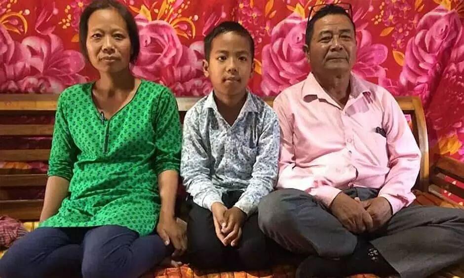 Manipur: 12-year-old Isaac Paulallungmuan Vaiphei clears 10th board exam with 72% marks