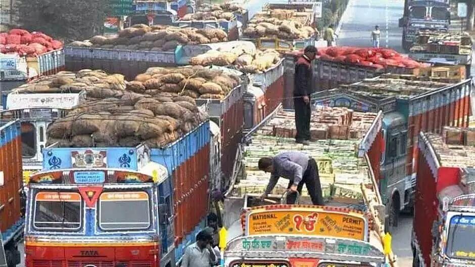 Vegetable trucks allowed in Guwahati city between noon to 4 pm