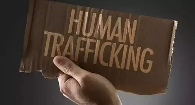 human trafficking racket