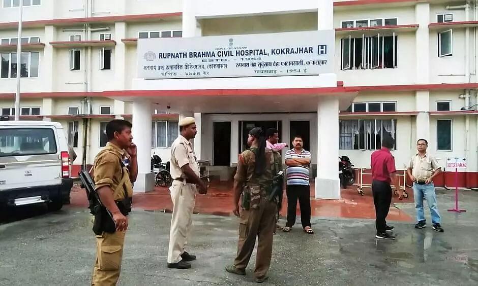 COVID-19 positive rape accused escapes from Kokarajhar hospital