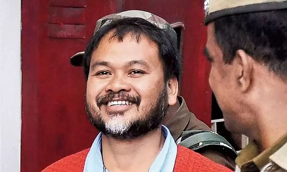 KMSS leader Akhil Gogoi tests COVID-19 positive in jail: Sources
