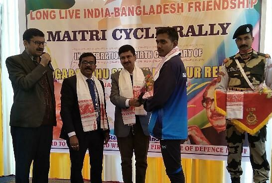 Bicycle rally organized to strengthen bond between India and Bangladesh – Sentinelassam