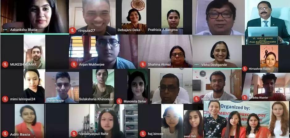 Rajiv Gandhi University organized webinar on career prospects in psychology