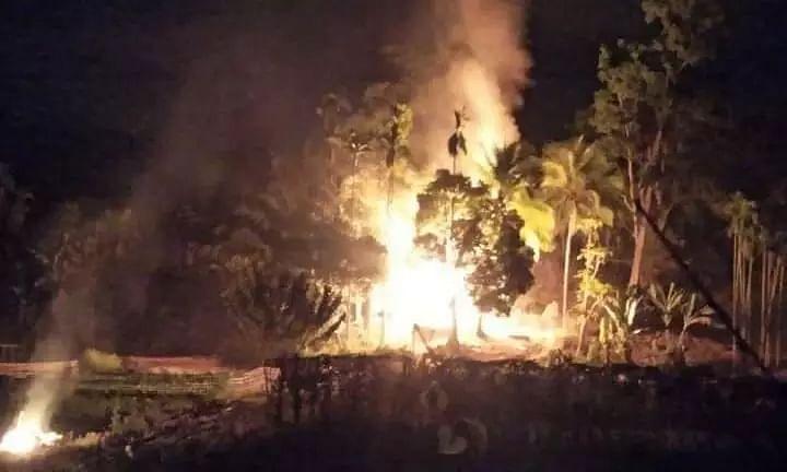 Fresh Unrest Along Assam-Mizoram Border, 20 Houses Set Ablaze