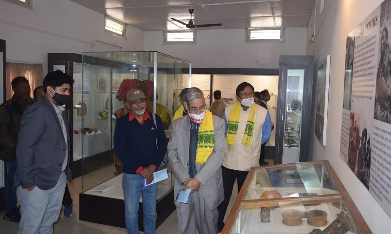 Folk Art Gallery Inaugurated at the Nilima Barua Folk Art Museum in Dhubri