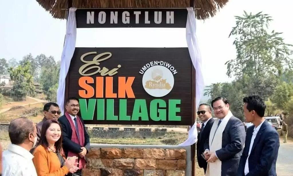Meghalaya Village Umden-Diwon Declared as First Eri Silk Village