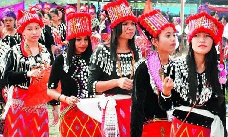Singpho tribe celebrates their annual festival Shapawng Yawng Manau Poi