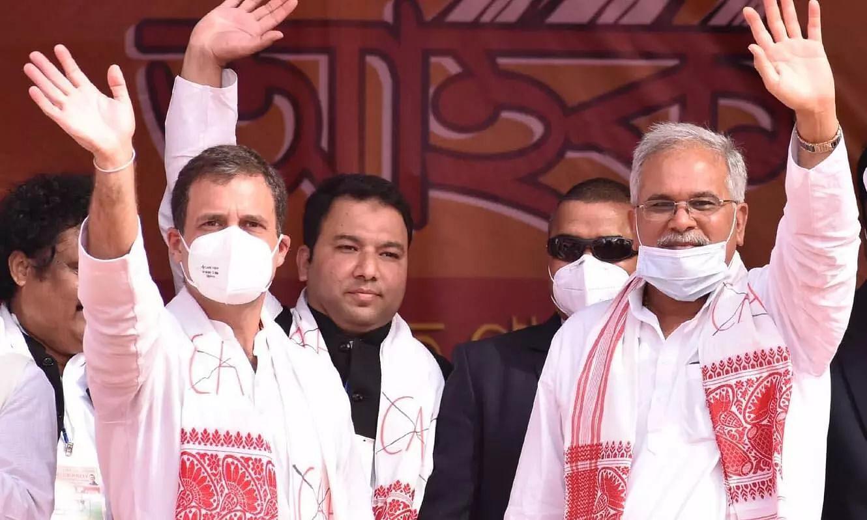 Congress leader Rahul Gandhi kickstarts poll campaign from Sivasagar