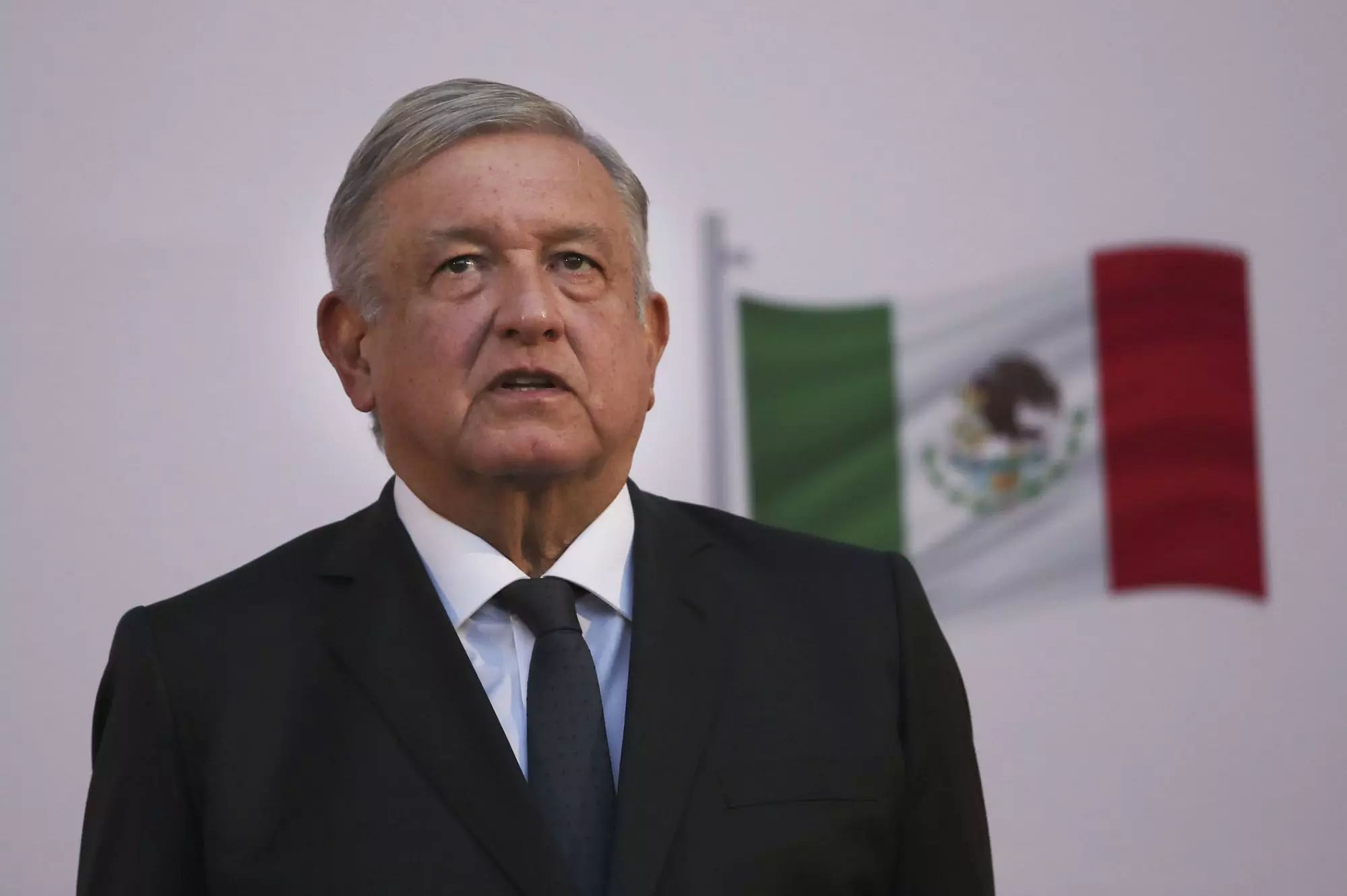 Mexicos President Andres Manuel Lopez Obrador welcomes US cancellation