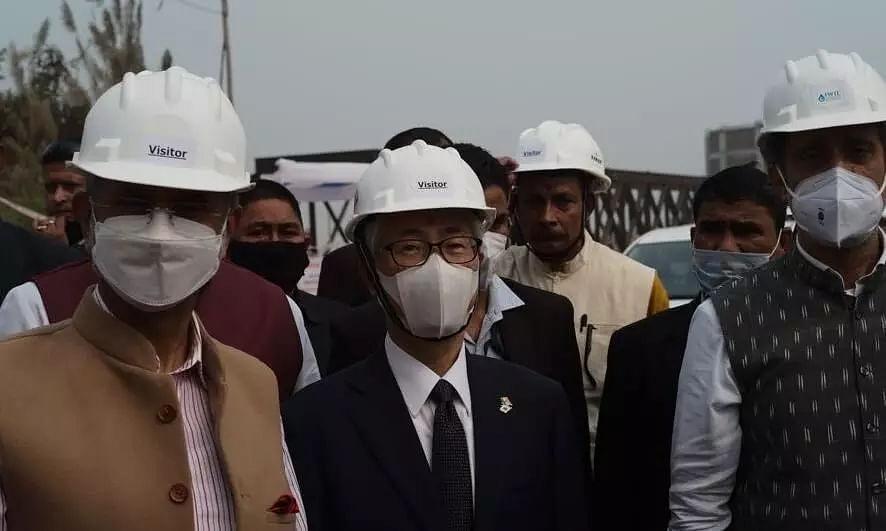 Union Minister S Jaishankar, Japanese Ambassador Satoshi Suzuki Take Stock of Guwahati Water Supply Project