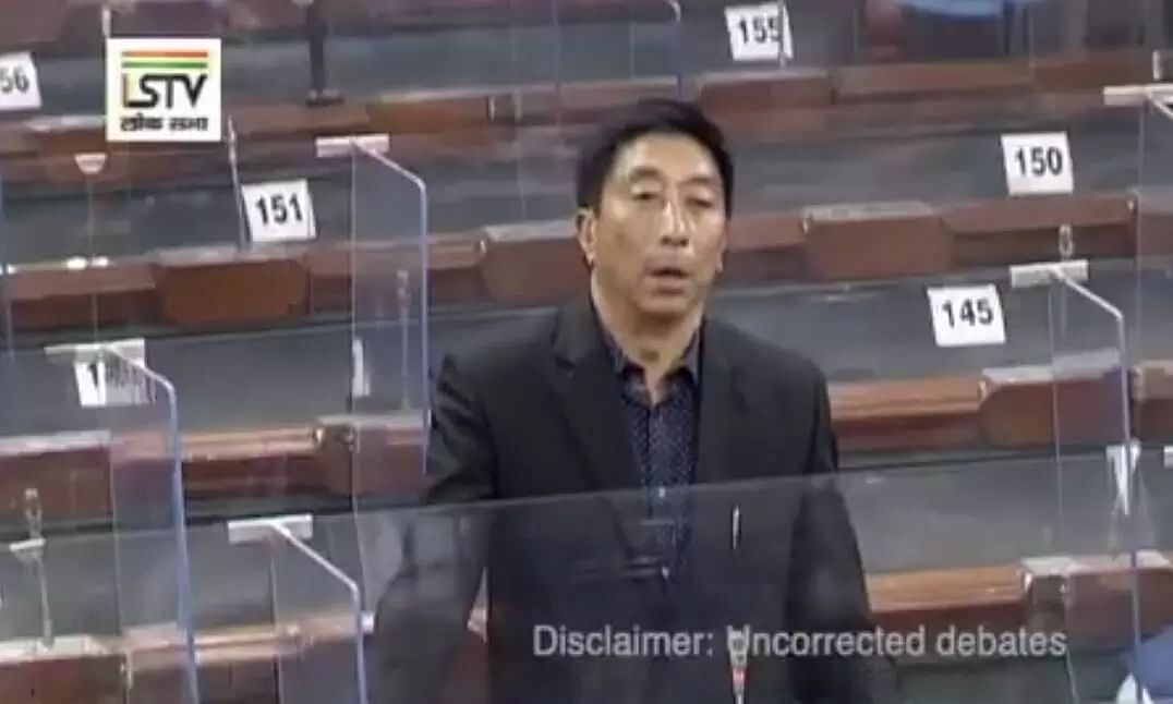 Nagaland MP Tokheho clarifies his statement on the Naga Issue in Lok Sabha