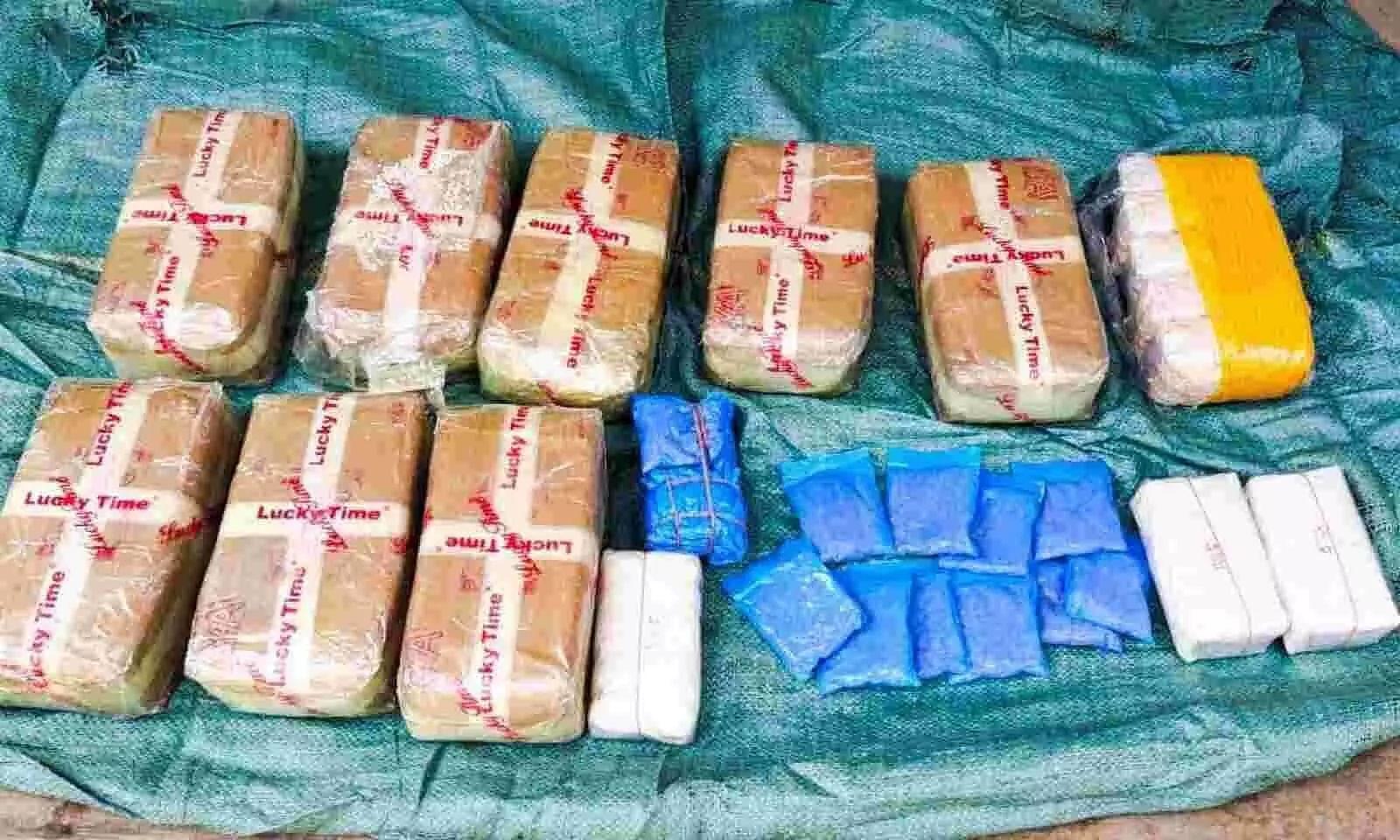 97,000 psychopathic Yaba tablets worth Rs 4 crore seized; 2 arrested in Bokajan