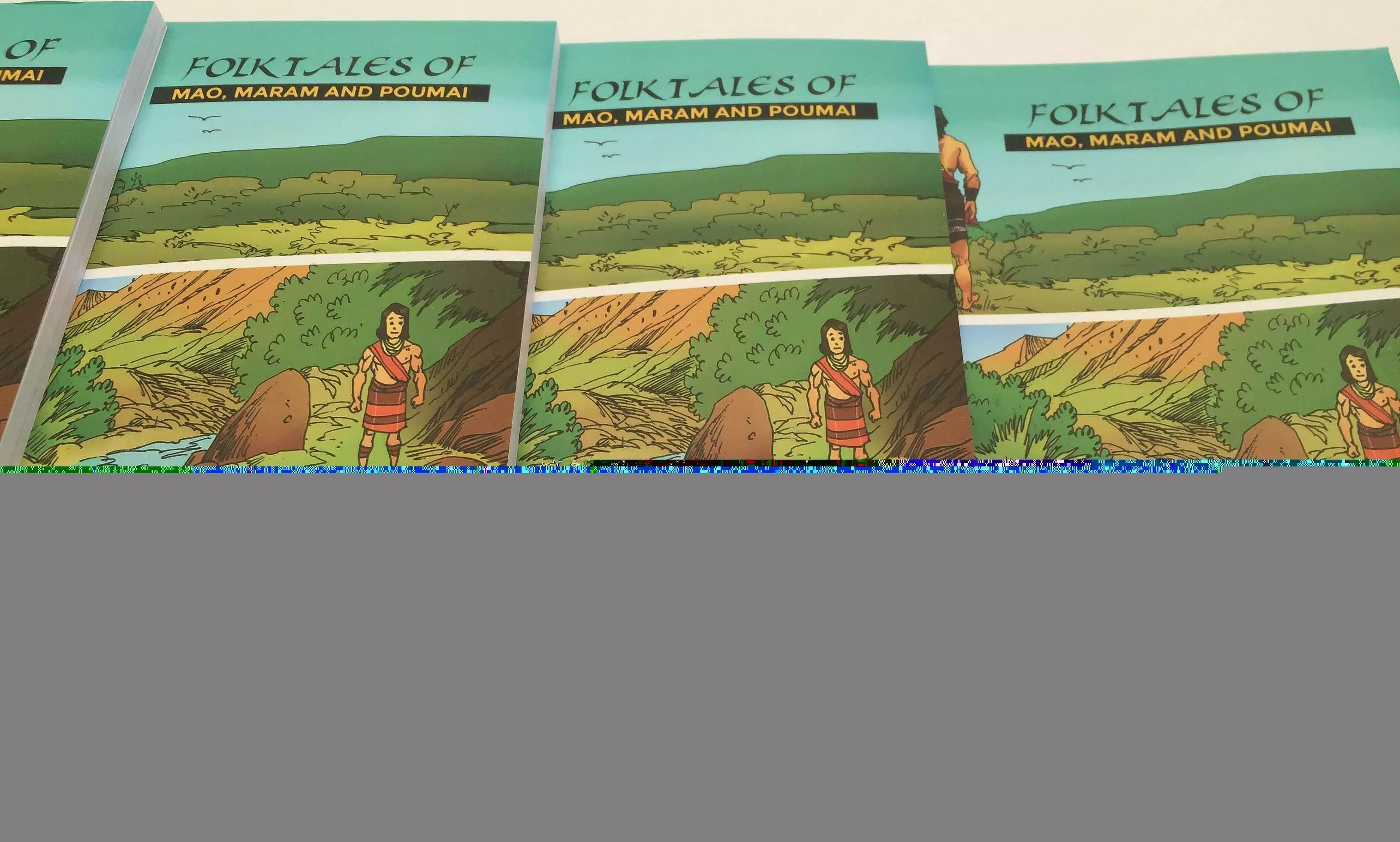 Comic Book Depicting Folktales of Three major Tribes Released in Manipur