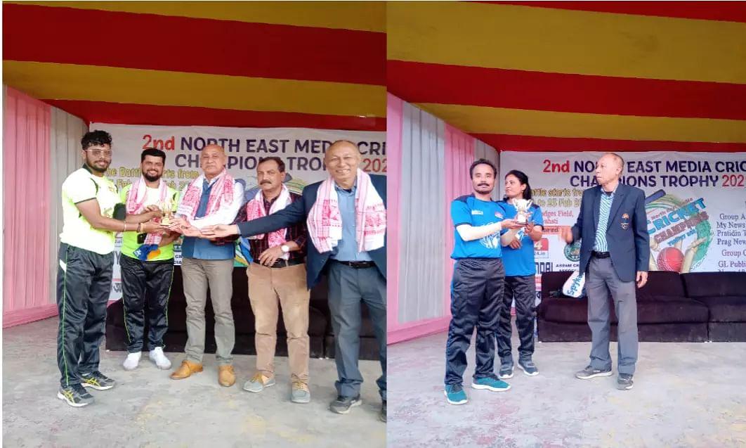 North East Media T20 Cricket Championship kicks off Wins for Prag News, GL Publication