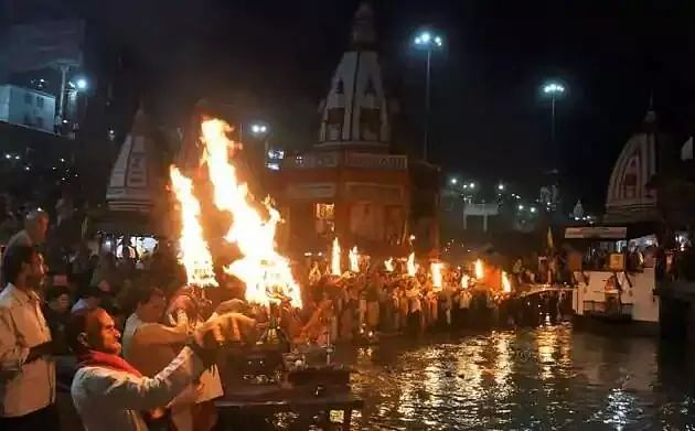 No Ganga Aarti without permission now
