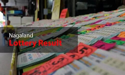 Nagaland State Lottery Results Today - 23 February21 - Nagaland Lottery Sambad Morning, Evening Result Update