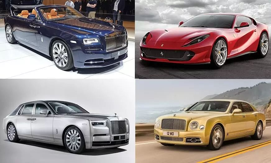 Some Expensive Dream Cars in the World