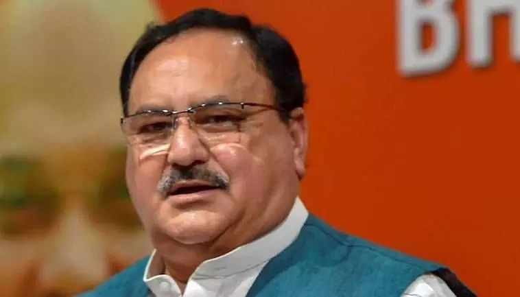J.P Nadda lays stress on booth management by party workers