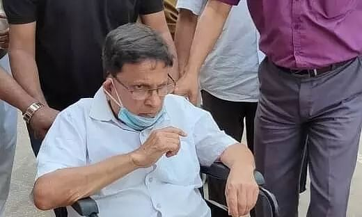 Senior CPI(M) Leader Badal Choudhury attacked in Tripura