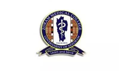 Zoram Medical College Recruitment 2021 – 1 Senior Research Fellow Vacancies, Job Openings