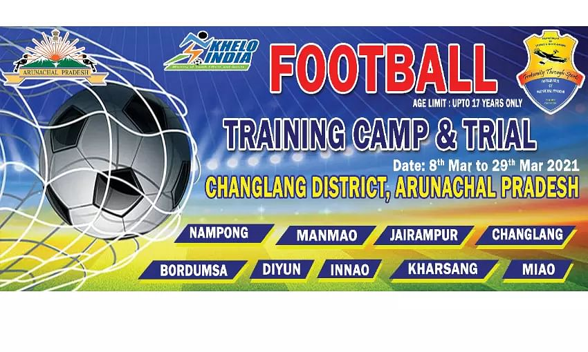 Sudeva Training Camp & Trial commences in Changlangs Nampong