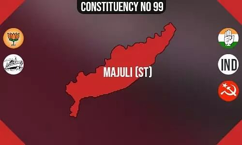Majuli  Polling Booths List, Election & Counting Date & Candidates Contesting from Majuli  Constituency Seat