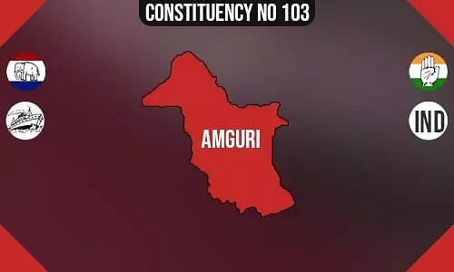 Amguri  Polling Booths List, Election & Counting Date & Candidates Contesting from Amguri  Constituency Seat