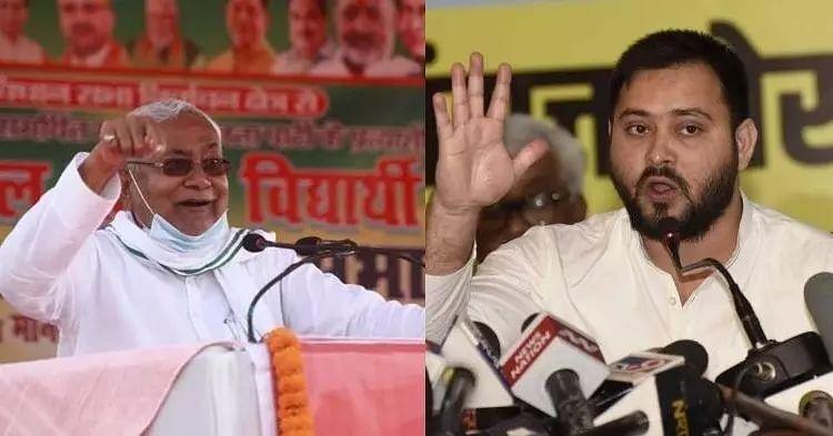 CM Nitish is real liquor mafia of Bihar, alleges Tejashwi