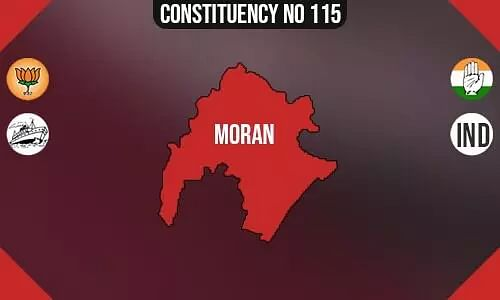 Moran Polling Booths List, Election & Counting Date & Candidates Contesting from Moran Constituency Seat