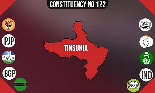 Tinsukia Polling Booths List, Election & Counting Date & Candidates Contesting from Tinsukia Constituency Seat