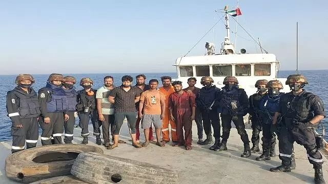 Indian Navy helps distressed merchant ship