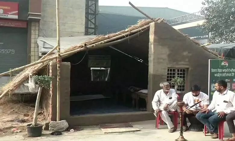 Farmers Protest Live Update: Farmers Build Permanent Houses at Tikri Border, Planning 2,000 More