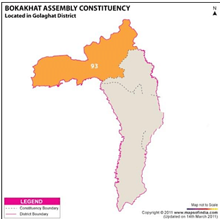 Bokakhat Assembly Constituency - Population, Polling Percentage, Facilities, Manifesto, Last Election Results