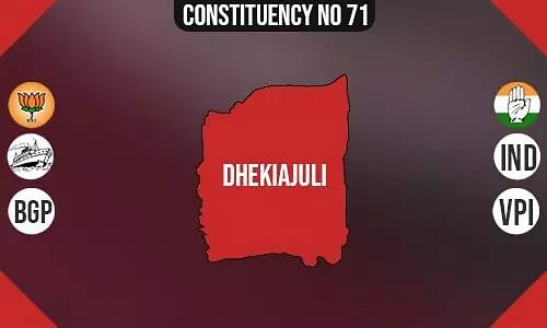 Dhekiajuli Constituency- Population, Polling Percentage, Parties Vote Share, Facilities, Last Election Results