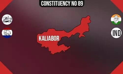 Kaliabor Constituency - Population, Polling Percentage, Facilities, Parties Vote Share, Last Election Results