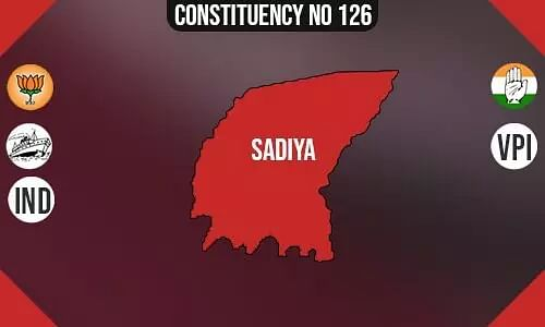 Sadiya Constituency- Population, Polling Percentage, Facilities, Parties Vote Share, Last Election Results