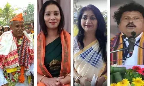 High-voltage nominations for 3rd phase of poll end