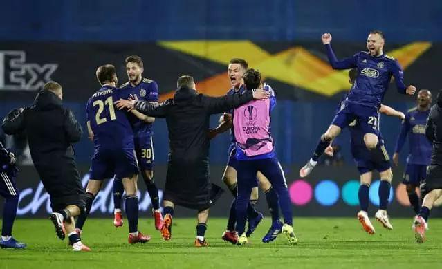 Zagreb stun Tottenham, Manchester United edge Milan Europa League