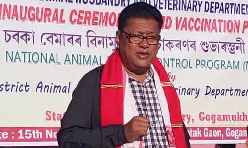 Ranoj Pegu from Dhemaji(ST) Early Life, Controversy & Political Career