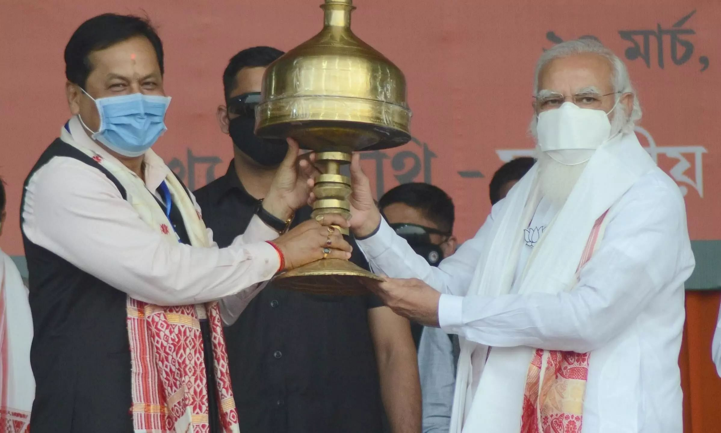 Congress failed to develop Tea industry in Assam: PM Modi