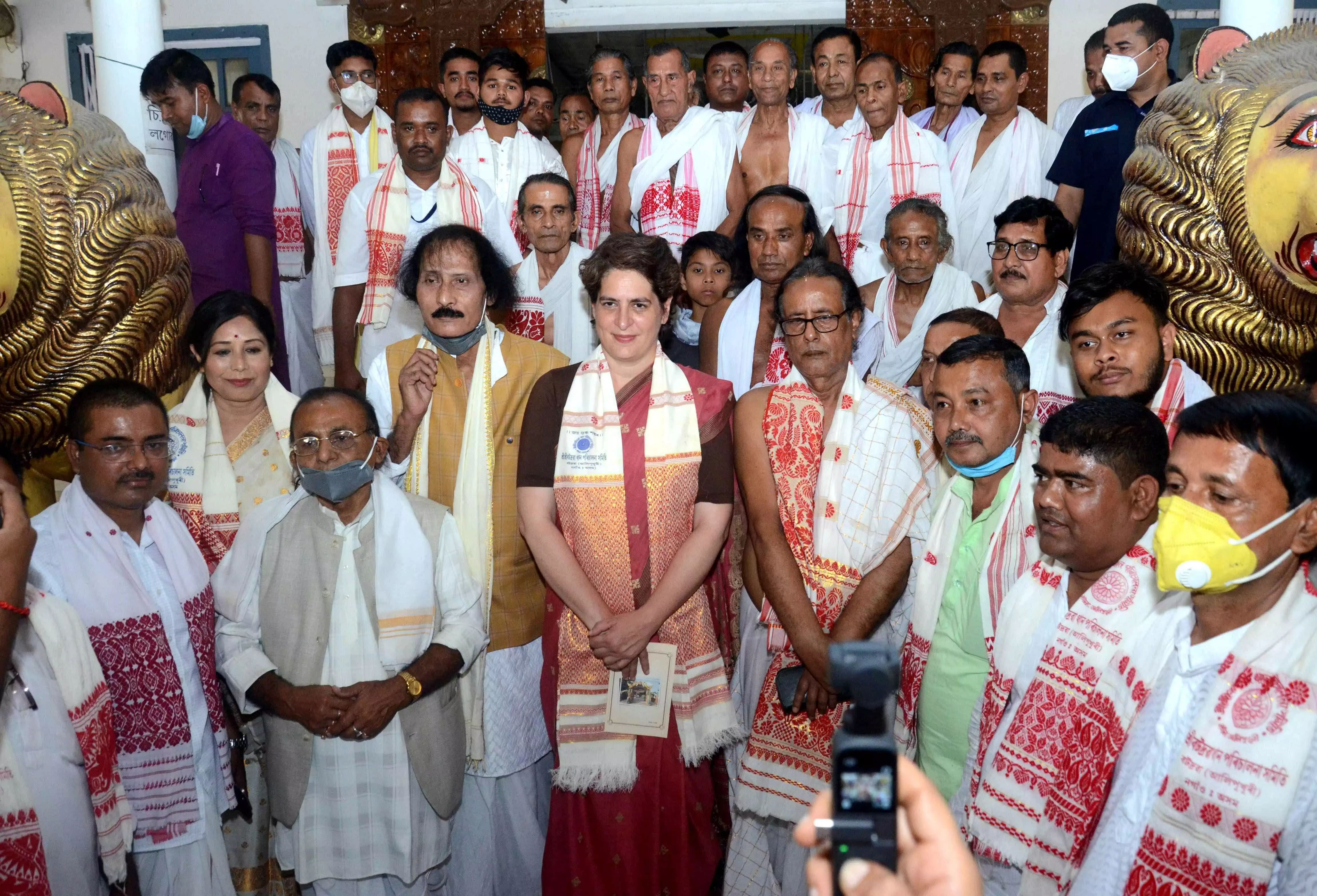 Congress will be single-largest party in Assam: Priyanka Gandhi