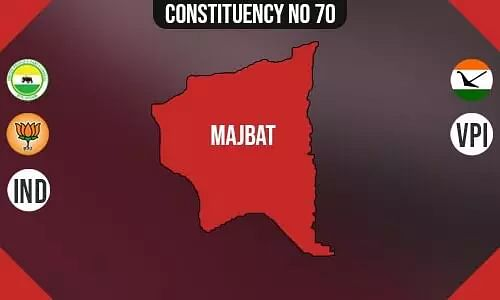 Majbat Constituency - Population, Polling Percentage, Facilities, Parties Vote Share, Last Election Results
