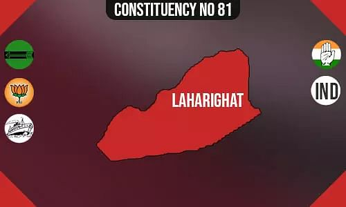 Laharighat Constituency - Population, Polling Percentage, Facilities, Parties Vote Share, Last Election Results