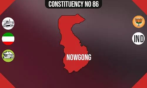 Nowgong Constituency - Population, Polling Percentage, Facilities, Parties Vote Share, Last Election Results