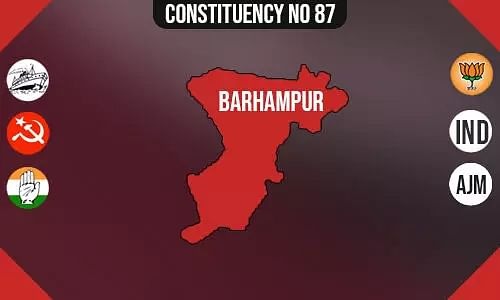 Barhampur Constituency - Population, Polling Percentage, Facilities, Parties Vote Share, Last Election Results